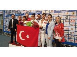 Gençler Avrupa Kupası'nda madalyalı gün