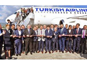 Türk Hava Yolları Zonguldak'a tarifeli sefer başlattı