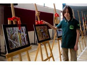 12 yaşındaki yaban hayatı fotoğrafçısından sergi
