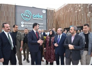 """Bakan Kurum: """"SOBE Türkiye'de uygulanan en güzel sosyal sorumluluk projelerinden birisidir"""""""