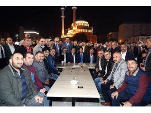 AK Partili yöneticiler Bağcılar'da irfan sofrasına konuk oldu