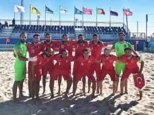 Milli Takım, Dünya Plaj Oyunları'na katılmaya hak kazandı