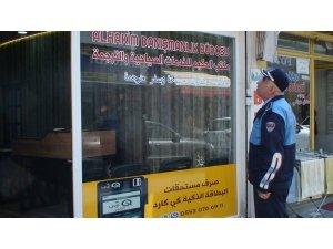 Samsun'da yabancı tabelalar söküldü