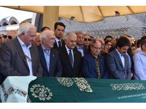 Binali Yıldırım, Deniz Nakliyat eski Genel Müdürü Muzaffer Akkaya'nın eşinin cenaze törenine katıldı