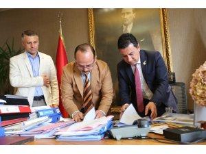 """Bodrum'da Yaşıyorum Yelkenle Tanışıyorum"""" projesinin işbirliği protokolü imzalandı"""