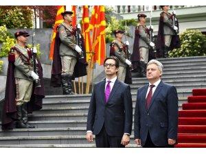 Kuzey Makedonya'nın yeni Cumhurbaşkanı Pendarovski görevi teslim aldı
