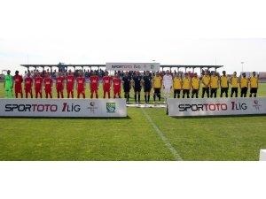 Spor Toto 1. Lig: Ümraniyespor: 1 - İstanbulspor: 3