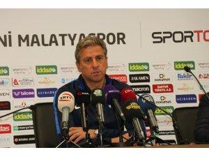 E. Yeni Malatyaspor - BB Erzurumspor maçının ardından