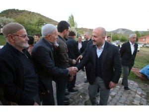 Vali Varol Boyalı köyünde vatandaşlarla iftar yaptı