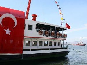 Zübeyde Hanım Müze ve Eğitim Gemisi hizmete açıldı