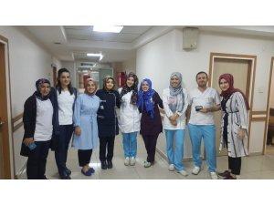 Özel Lokman Hekim Van Hastanesinde Hemşireler Günü etkinliği