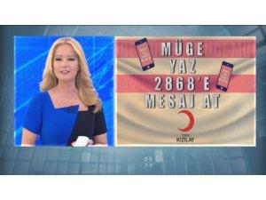Müge Anlı'da 'Aşevi' kampanyasına 4 milyon lira bağış toplandı