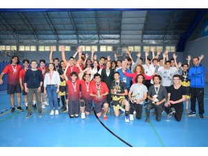 Spor Şenlikleri'nde voleybola büyük ilgi