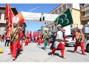 """Karaman'da """"Türkçe aşkı vatan aşkı"""" yürüyüşü düzenlendi"""