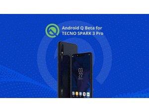 TECNO Mobile, SPARK 3 Pro'nun Android Q Beta'ya yükseltme planlarını duyurdu