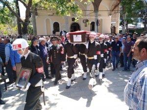 Sökeli Emekli Albay Nihat Ateş son yolculuğuna dualarla uğurlandı