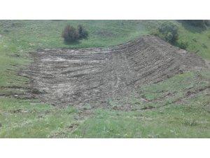 Beypınar'daki gölet daha kullanışlı hale getirildi