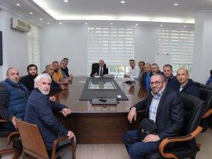 Başkan Özlü'ye Engelliler Haftasında anlamlı ziyaret