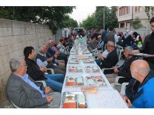 Şehit Fahri Yaldız hayrına iftar programı düzenlendi