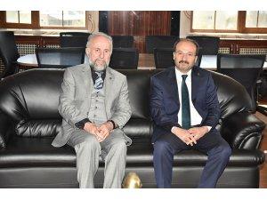 ETÜ Rektörü Çakmak'ın Müftülük ve Orman Bölge Müdürlüğünü ziyareti