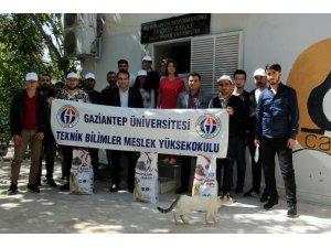 GAÜN Teknik Bilimler MYO öğrencileri CAHİDE'ye gezi düzenledi