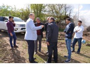 Çorum'da 8 evin yandığı köyün yaraları sarılmaya başlandı