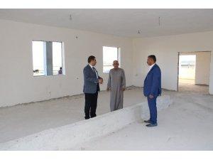 Haliliye'de taziye evi yapım çalışmaları sürüyor
