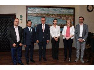 Polonya Heyetinden Başkan Seçer'e ziyaret