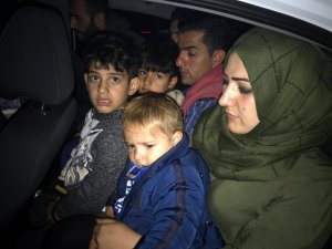 Tekirdağ'da 10 kaçak göçmen yakalandı