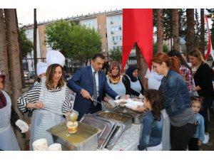 Antalya Emniyet personeli ve aileleri iftar yemeğinde bir araya geldi