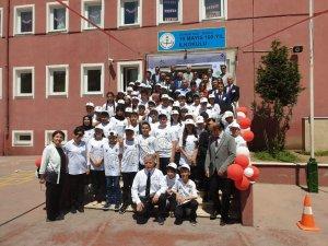 Kozlu 19 Mayıs 100. Yıl Ortaokulu TÜBİTAK 4006 Bilim Fuarı ilgi gördü