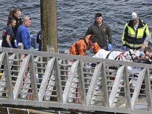 Deniz uçakları havada çarpıştı: 5 ölü