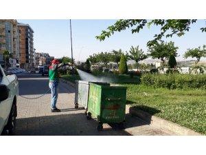 Karaköprü'de haşereyle mücadele sürüyor