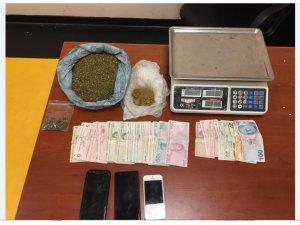Uyuşturucu tacirlerine şok baskın: 2 tutuklama