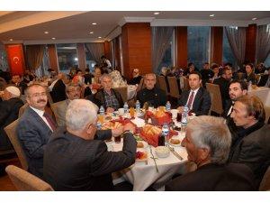 Şehit yakınları ve gaziler onuruna iftar programı düzenlendi