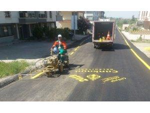 Çankaya'da asfalt çalışmaları başladı