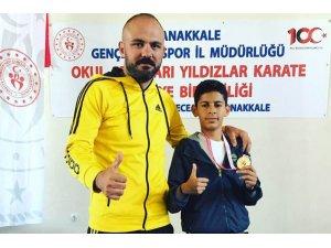Alihan Şekerci, Çanakkale'de Türkiye şampiyonu oldu