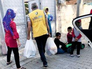 Kahta İyilik Der, Ramazan'da da ihtiyaç sahiplerinin yanında