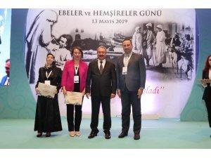 Erzincan'da yılın en başarılı ebe ve hemşiresine ödül