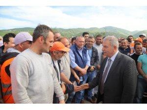"""Başkan Demirtaş: """"El birliğiyle çok çalışacağız"""""""