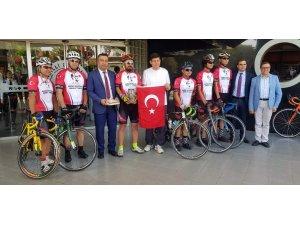 Nazilli'nin toprağını bisikletle Anıtkabir'e yaşıyacaklar