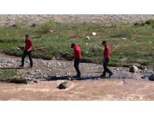 Kars'ta kayıp 3 yaşındaki Nurcan'ı arama çalışmalarına devam ediliyor