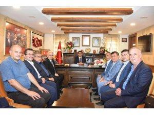 MESKOOP'tan Başkan Çelik'e 'hayırlı olsun' ziyareti