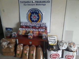 Emniyet Müdürlüğü ekipleri kaçak tütüne geçit vermiyor