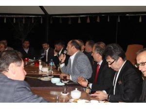MHP iftarda Uzundere'de buluştu