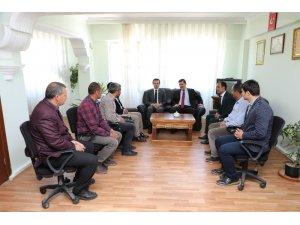 Vali Arslantaş'tan ilçe ve beldelerin yeni belediye başkanlarına ziyaret