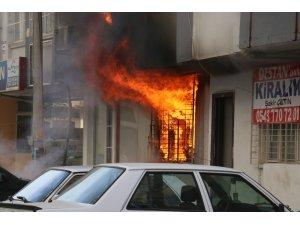 Adana'da korkutan yangın