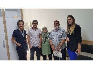 Fransa'dan Gaziantep'e şeker ameliyatı için geldi