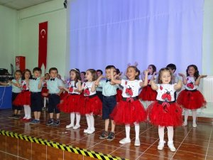 Hisarcık'ta ana sınıfı gösterisi