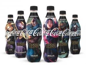 """""""League of Legends"""" şampiyonları Coca-Cola şişelerinde"""